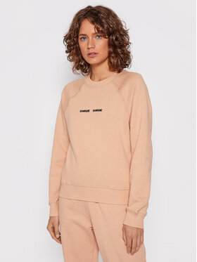Samsøe Samsøe Samsøe Samsøe Sweatshirt Barletta F19218100 Rosa Relaxed Fit