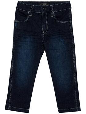Boss Boss Τζιν J04383 M Σκούρο μπλε Slim Fit
