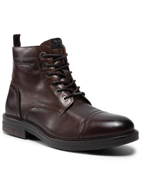 Pepe Jeans Pepe Jeans Kozačky Hubert Boot PMS50159 Hnědá