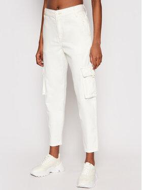 Levi's® Levi's® Текстилни панталони Cargo 36693-0006 Бял Regular Fit