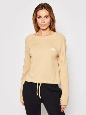 adidas adidas Džemperis W Dnc Cro GL3972 Smėlio Regular Fit