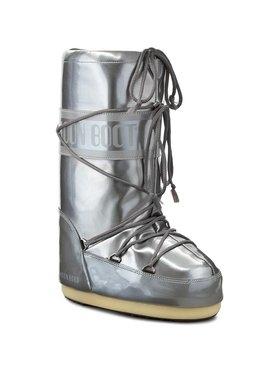 Moon Boot Moon Boot Čizme za snijeg Vinile Met. 14021400004 Srebrna
