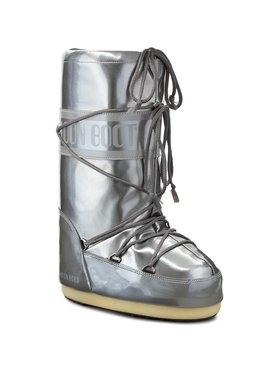 Moon Boot Moon Boot Stivali da neve Vinile Met. 14021400004 Argento