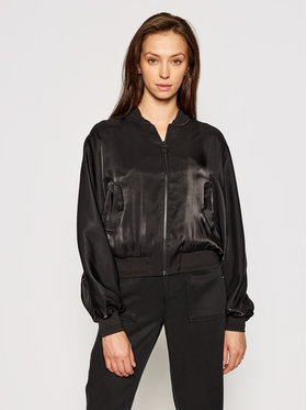 Guess Guess Bomber striukė Jan W1GL97 WCUA2 Juoda Relaxed Fit