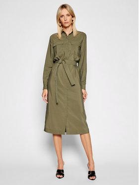 Pepe Jeans Pepe Jeans Sukienka koszulowa Isabella PL952929 Zielony Regular Fit