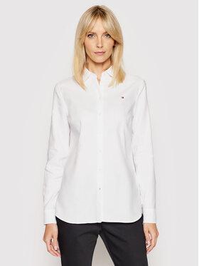 Tommy Hilfiger Tommy Hilfiger Koszula Heritage Regular Fit Shirt 1M87647512 Biały Regular Fit
