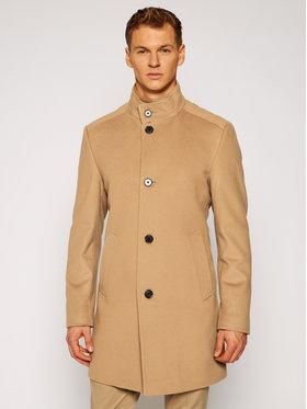 Joop! Joop! Gyapjú kabát 7 Jc-21Maron 30022586 Barna Regular Fit