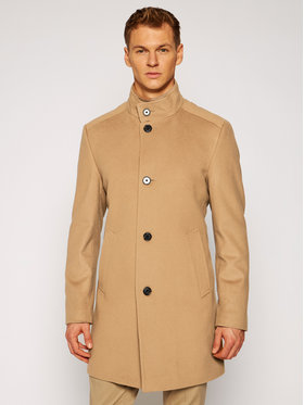Joop! Joop! Vlnený kabát 7 Jc-21Maron 30022586 Hnedá Regular Fit