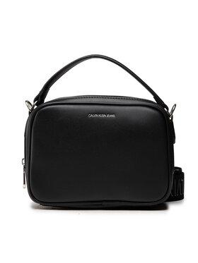 Calvin Klein Jeans Calvin Klein Jeans Дамска чанта Trapezoid Shadow Camera Bag K60K608382 Черен