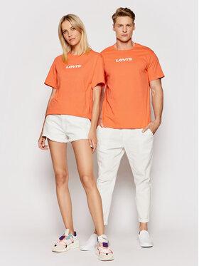 Levi's® Levi's® T-Shirt A2083-0002 Oranžová Regular Fit