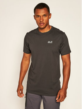 Jack Wolfskin Jack Wolfskin T-Shirt Rebel T 1806852 Černá Regular Fit