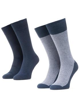 Levi's® Levi's® Комплект 2 чифта дълги чорапи мъжки 37157-0212 Тъмносин