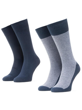Levi's® Levi's Unisex ilgų kojinių komplektas (2 poros) 37157-0212 Tamsiai mėlyna