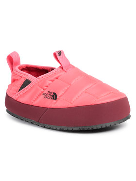 The North Face The North Face Kapcie Youth Thermoball Traction Mule II NF0A39UXTJF1 Różowy