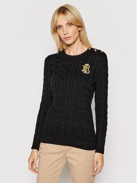 Lauren Ralph Lauren Lauren Ralph Lauren Пуловер 200826380003 Черен Regular Fit