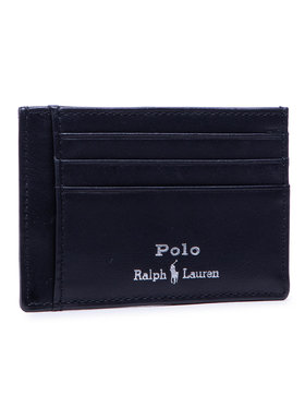Polo Ralph Lauren Polo Ralph Lauren Pouzdro na kreditní karty Mpolo Co D2 405803869002 Černá