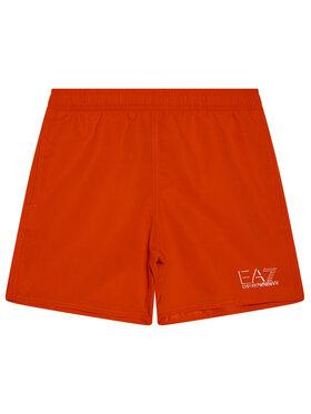 EA7 Emporio Armani EA7 Emporio Armani Pantaloni scurți pentru înot 906005 1P772 02574 Roșu Regular Fit