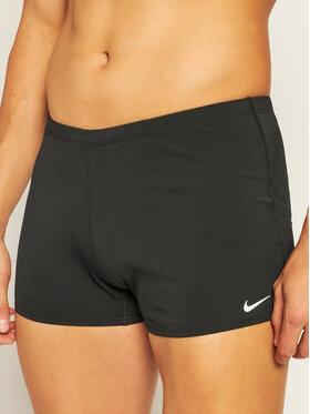 Nike Nike Kąpielówki Hydrastrong Solid Aquasho NESSA002 Czarny Slim Fit