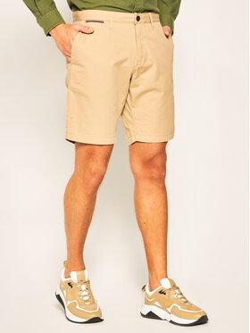 Tommy Hilfiger Tommy Hilfiger Kratke hlače Brooklyn Light Twill MW0MW13536 Bež Regular Fit