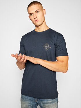 Quiksilver Quiksilver T-Shirt Before Light Organic EQYZT06128 Σκούρο μπλε Regular Fit