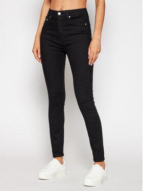 Calvin Klein Jeans Calvin Klein Jeans Blugi Super Skinny Fit J20J215526 Negru Super Skinny Fit