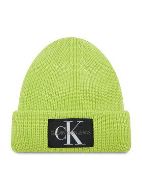 Calvin Klein Jeans Calvin Klein Jeans Čiapka Monogram Beanie Wl K50K506242 Zelená