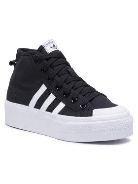 adidas adidas Παπούτσια Nizza Platform Mid W FY2783 Μαύρο