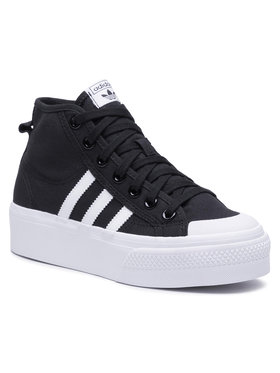 adidas adidas Topánky Nizza Platform Mid W FY2783 Čierna