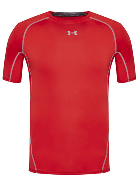 Under Armour Under Armour Maglietta tecnica Sleeve Compression 1257468 Rosso Slim Fit