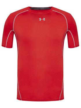 Under Armour Under Armour Techniniai marškinėliai Sleeve Compression 1257468 Raudona Slim Fit