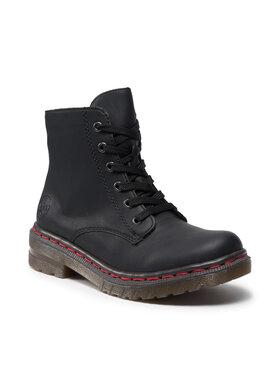 Rieker Rieker Outdoorová obuv 76240-00 Čierna