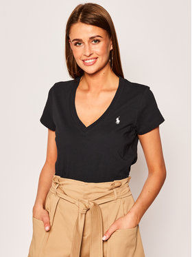 Polo Ralph Lauren Polo Ralph Lauren T-Shirt 211810419 Μαύρο Regular Fit