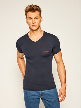 Emporio Armani Underwear Emporio Armani Underwear Tricou 110810 0A715 00135 Bleumarin Slim Fit
