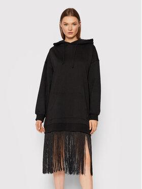 TWINSET TWINSET Úpletové šaty 212TT201A Černá Regular Fit