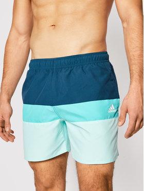 adidas adidas Pantaloni scurți pentru înot Block Clx Sl GM2215 Verde Regular Fit