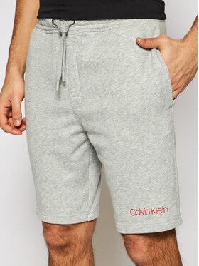 Calvin Klein Underwear Calvin Klein Underwear Bavlnené šortky 000NM2168E Sivá Regular Fit