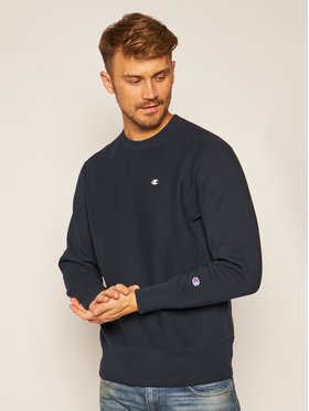 Champion Champion Felpa Reverse Weave 215215 Blu scuro Custom Fit