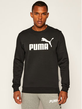Puma Puma Bluză Ess Logo Crew Sweat Fl Big Logo 851747 Negru Regular Fit