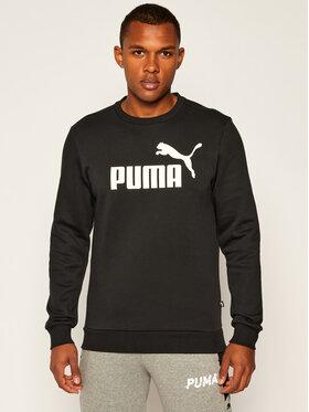Puma Puma Mikina Ess Logo Crew Sweat Fl Big Logo 851747 Čierna Regular Fit