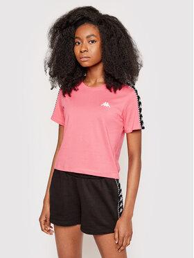 Kappa Kappa T-Shirt Inula 309090 Różowy Regular Fit