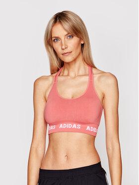adidas adidas Podprsenkový top Aeroknit GV5123 Růžová