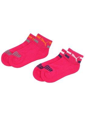 Puma Puma Sada 2 párů nízkých ponožek unisex 889986 Růžová