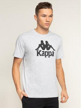 Kappa Kappa Тишърт Caspar 303910 Сив Regular Fit