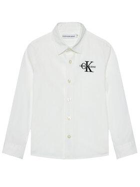 Calvin Klein Jeans Calvin Klein Jeans Ing Hybrid Chest Logo IB0IB00830 Fehér Regular Fit