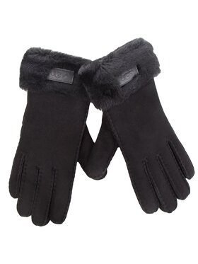 Ugg Ugg Dámske rukavice W Turn Cuff Glove 17369 Čierna