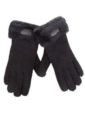 Ugg Ugg Női kesztyű W Turn Cuff Glove 17369 Fekete