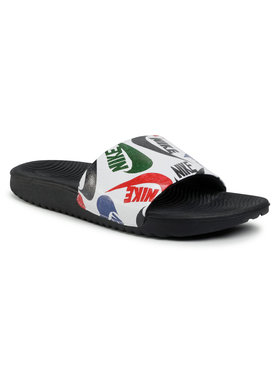 NIKE NIKE Чехли Kawa Slide Se Jdi (Gs/Ps) CT6619 010 Бял