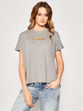 Napapijri Napapijri T-Shirt Sione NP0A4E3S Szary Regular Fit