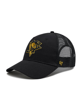 47 Brand 47 Brand Casquette Brand NHL Pittsburgh H-BRMTL15CTP-BK Noir