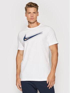 Nike Nike T-Shirt Nsw Swoosh DB6470 Biały Standard Fit
